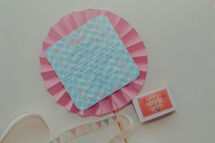 Pretville Theme Wedding stationery