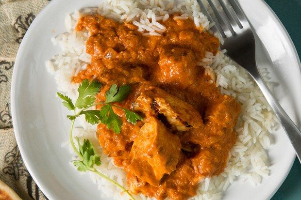 """If there's one dish guaranteed to be on every Indian restaurant menu, it's chicken tikka masala, which is composed of grilled chunks of chicken enveloped in a creamy spiced tomato sauce. What's behind this simple dish's tremendous popularity? """"Tomato sauce has universal appeal. When the dish is eaten with naan bread, it's like an Indian version of pizza!"""" exclaims cookbook author and cooking teacher Julie Sahni, one of the most respected authorities on Indian cooking.                  With…"""