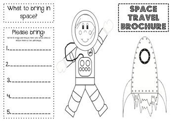 Space Travel Brochure School Stuff Pinterest Brochures Travel And Spaces