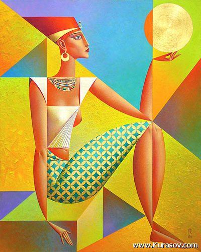 #196  «Cult Of The Sun» 2009 Georgy Kurasov, (1958)
