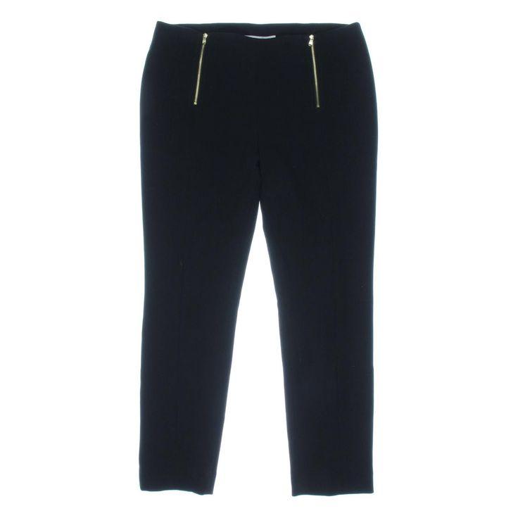 Rachel Rachel Roy Womens Ponte Skinny Dress Pants