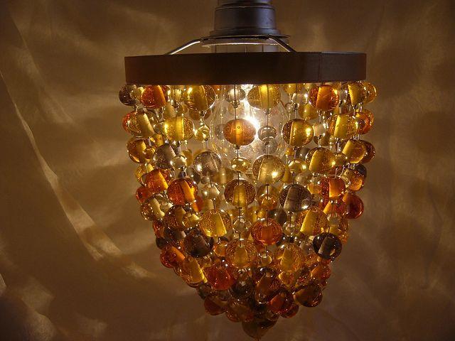 8A Loupiote ambre et grise en verre de Murano   Flickr: partage de photos!