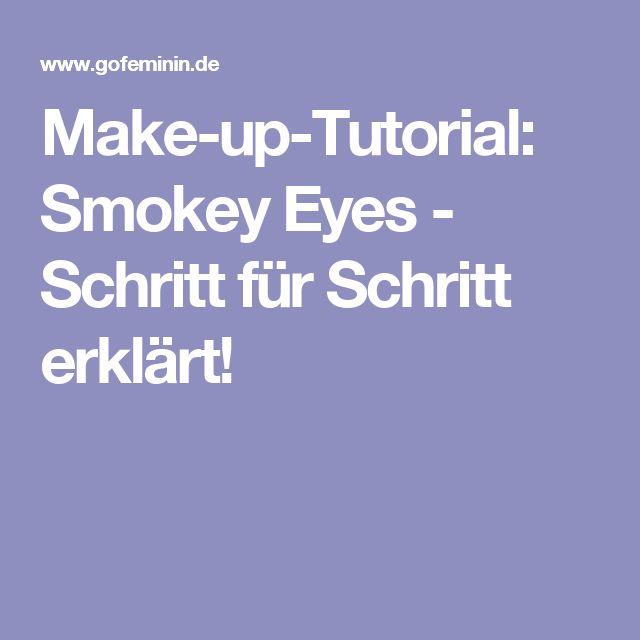 Make-up-Tutorial: Smokey Eyes - Schritt für Schritt erklärt!