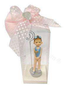 Bomboniera Comunione Sport Nuoto Bambina Confezionata