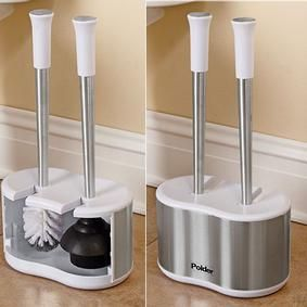 best 25 toilet brush ideas on pinterest tiny bathrooms smart design and s. Black Bedroom Furniture Sets. Home Design Ideas