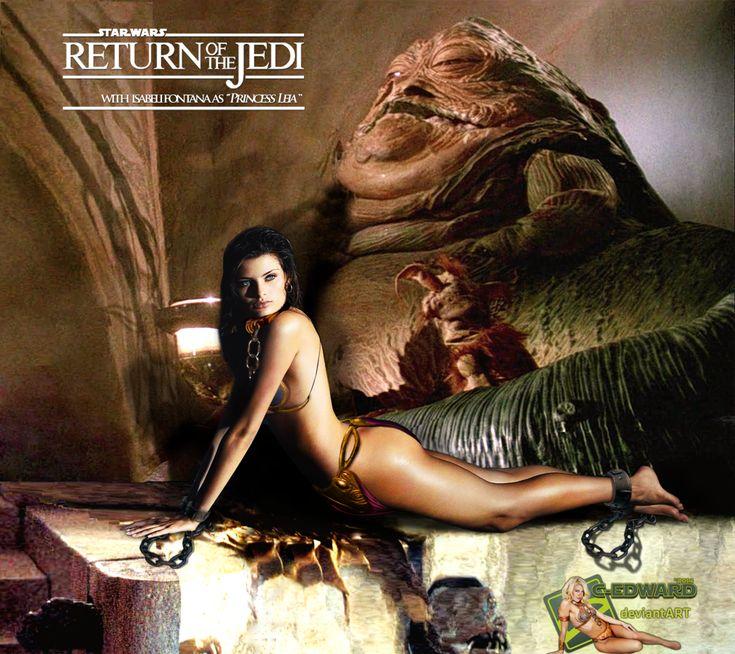 Isabeli Fontana|Princess Leia Slave|Jabba the Hutt by c ... Jabba The Hutt And Leia Fanfiction