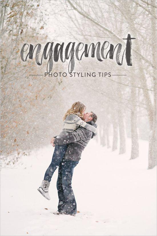 Engagement Photo Styling Tips