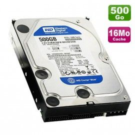 "Disque Dur 500Go IDE ATA 3.5"" Western Digital WD5000AAKB Caviar Blue 7200 16Mo"