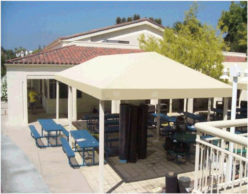 Commercial Shade Structures, Industrial Patio Awnings and Shade Structures |