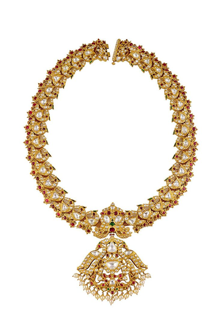 A south Indian style necklace by Amrapali.