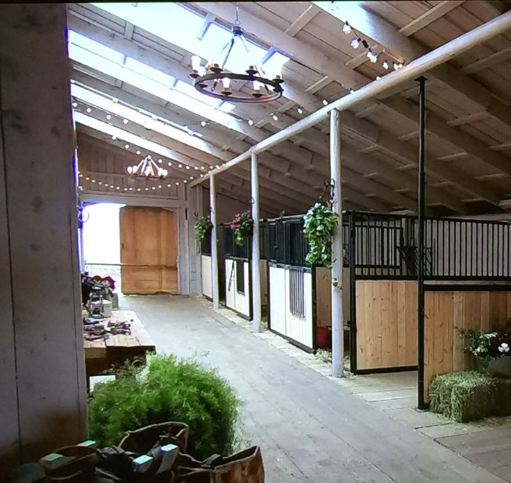 Indoor Riding Arena With Stalls: 17 Best Images About Horse Barn Ideas On Pinterest
