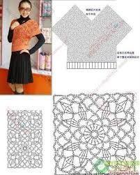 Resultado de imagen para blusas tejidas a crochet en cuadros