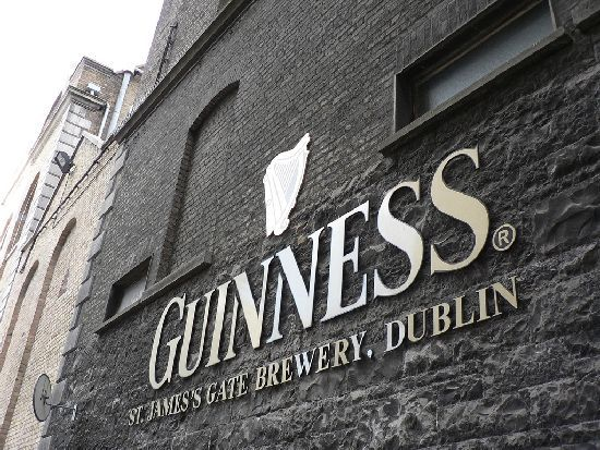 Guinness Factory in Dublin. Put this on your bucket list! It's amazing.