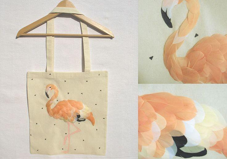Tote bag gagnant du concours Little <3 bag de Modes & Travaux.
