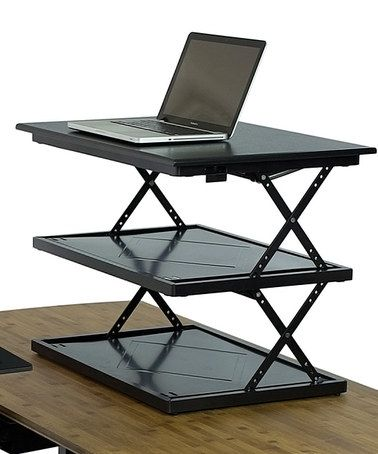 Look what I found on #zulily! Adjustable Standing Desk Converter #zulilyfinds