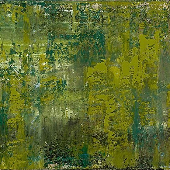 Greenery #pantone #coloroftheyear2017 #art #contemporaryart | Art by: @ www.patriciagrayart.com  | __________ REFLECTIONS II Patricia Gray  Acrylic with resin on Belgium linen  30 x 48 in. @ www.patriciagrayart.com __________