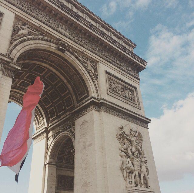 Arc de triomphe. Paris. ©Charlotte Olsson