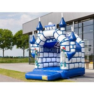 Spring & Summer blue inflatable bouncer rental,used inflatable bouncers indoor&outdoor game
