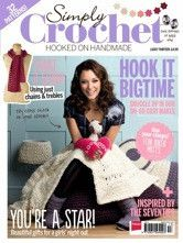 Simply Crochet magazine - Issue 13  Lucky Issue Thirteen of Simply Crochet magazine has arrived in Australia!   ... $14.00