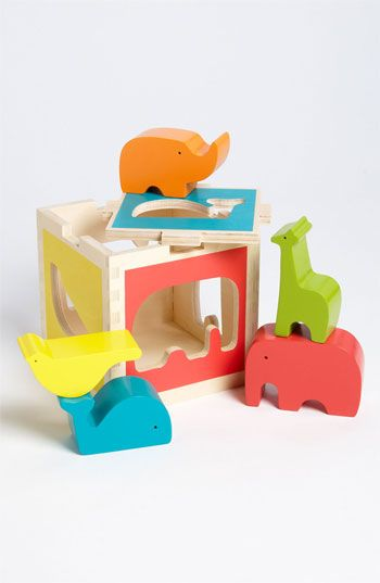 DwellStudio 'Zoo' Shape Sorter available at #Nordstrom