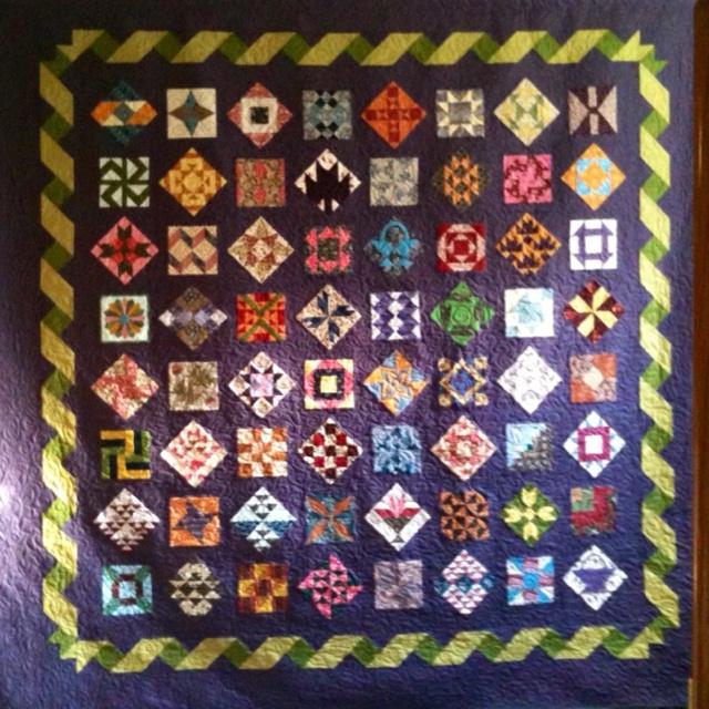 Farmer's Wife Quilt...like the ribbon border: Farmers Wife Quilt, Quilt Patterns Blocks, Quilts Farmer S, Border Idea, Sampler Quilts, Wife Quilts