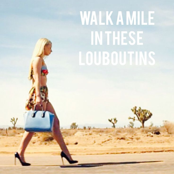 Walk a mile in these Louboutins - Iggy Azalea get this work~~~~