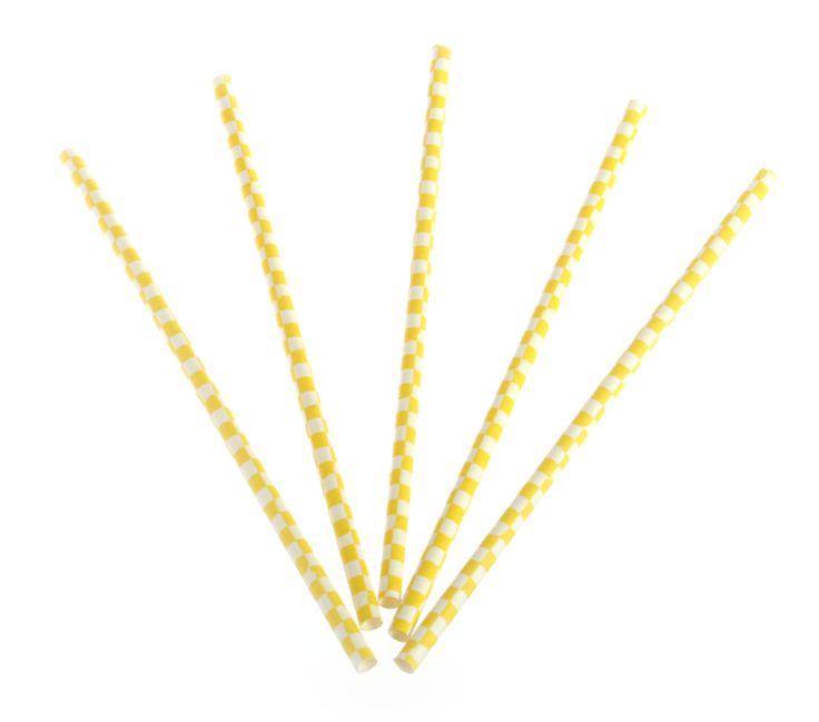 Paper straw checker