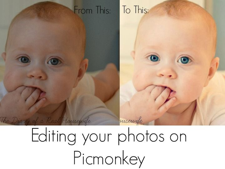 The Diary of a Real Housewife: How to Edit Pictures without Photoshop
