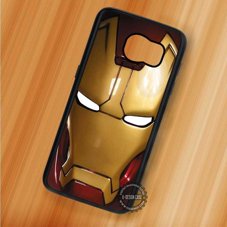 Iron Man Mask Movie - Samsung Galaxy S7 S6 S5 Note 7 Cases & Covers
