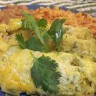 sour-cream ench.: Sour Cream Enchiladas, Sourcream, Chicken Enchiladas Recipe, Mexicans Food, Corn Tortillas, Sour Cream Chicken, Green Chicken Enchiladas, Chicken Breast, Green Onions