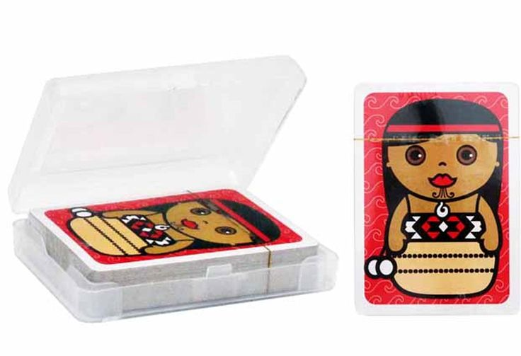 Maori Doll Playing Cards | Counters & Dice