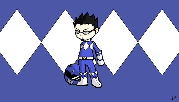 Me as Blue Ranger
