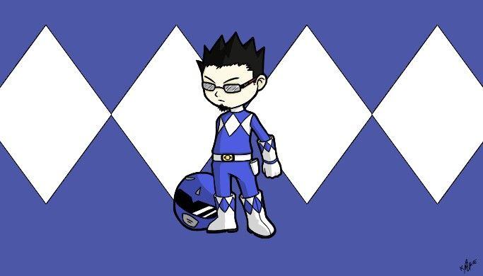 Me as Blue Ranger