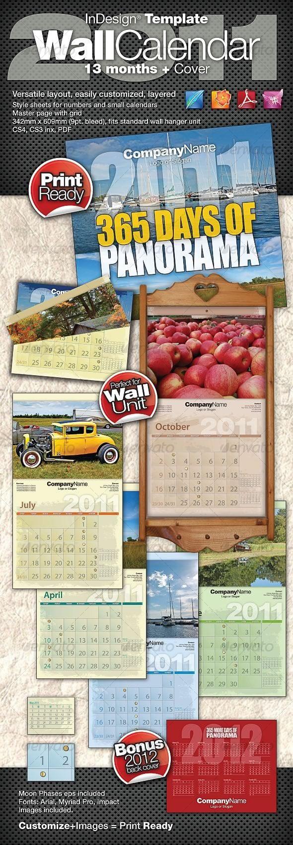 17 Best images about Print Templates – Calendar Flyer Template