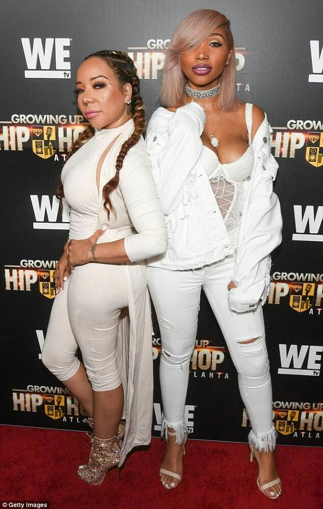 Tameka Tiny Harris and daughter Zonnique Phillips