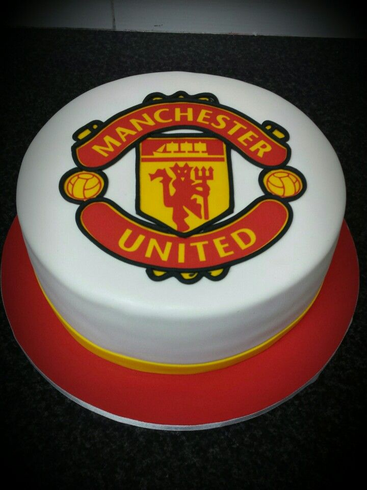 manchester united cake in singapore