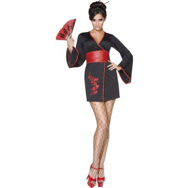 Women's Geisha Kimono available from Costume Direct!