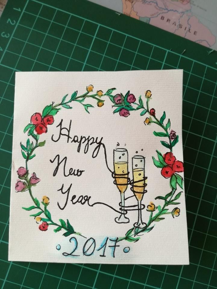 30 Delightful Happy New Year Cards You Can Use New Year