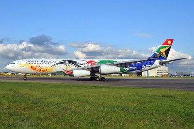 South African Airways introduces its 2012 London Olympics logojet | World Airline News