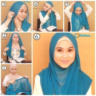 Tutorial Hijab Untuk ke Kampus | Kuliah #4