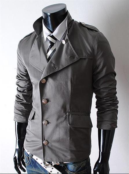 Куртка из кусочков белая черная серая модная