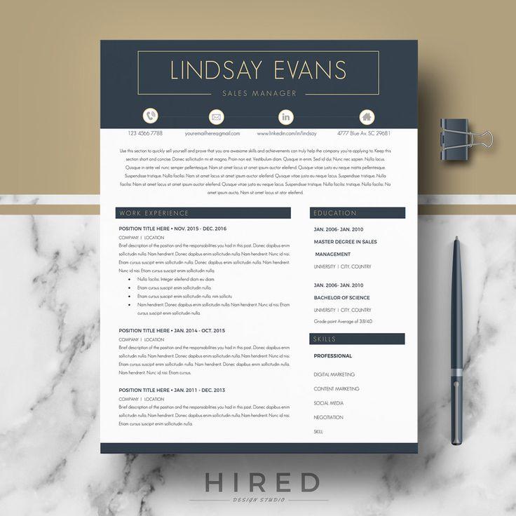 73 best Modern, Professional  Elegant Resume Templates images on - modern resume templates word