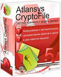 """Atlansys CryptoFile ВОХ  — 237.6 руб. —  Atlansys CryptoFile (Атлансис Крипто Файл) это простая программа, которая позволяет """"в два нажатия мышкой"""" выполнить упаковку и шифрование выбранных файлов и папок. Можно зашифровать как файл или папку по отдельности, так и любое количество файлов и папок. Шифрованные файлы можно сохранить на любом носителе информации, а также переслать их по почте. И никто кроме вас не сможет получить доступ к информации, не зная введенного вами пароля. При открытии…"""