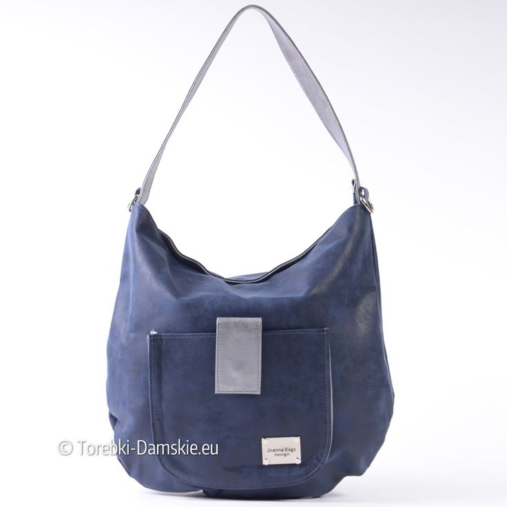 Granatowo - srebrna torebka damska A4 na ramię lub do przewieszenia. Sprawdź cenę i zobacz wszystkie zdjęcia Kliknij http://torebki-damskie.eu/niebieskie-blekitne-granatowe/1321-granatowo-srebrna-torba-na-ramie-duza.html