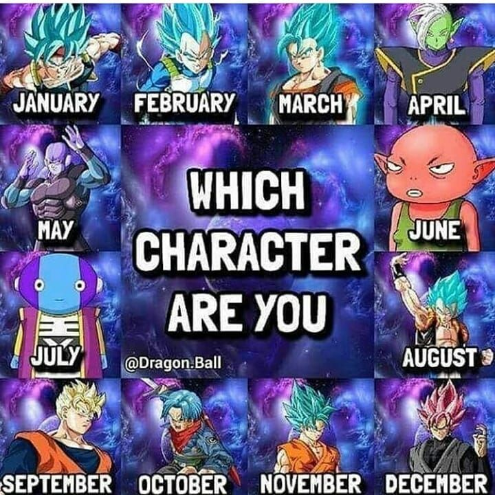 So Which Character Are You Comment Down Below Goku Anime Dbz Dbz Dragonballzkai Dr Dragon Ball Super Funny Anime Dragon Ball Super Dragon Ball Artwork