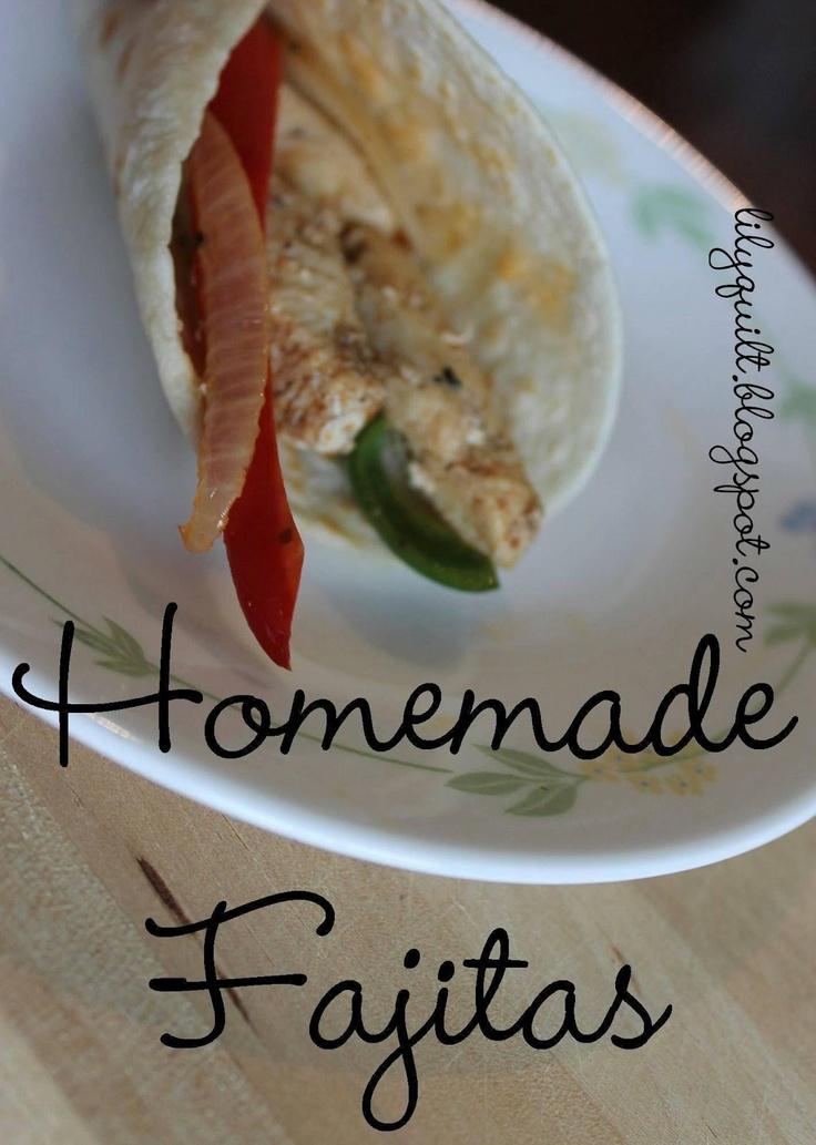 Homemade Restaurant Fajitas (marinade sounds good for beef too)
