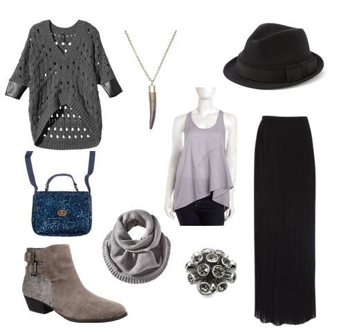Geek Chic: Fashion Inspired by The Hobbit: An Unexpected Journey - Gandalf. Don't like the boots or purse