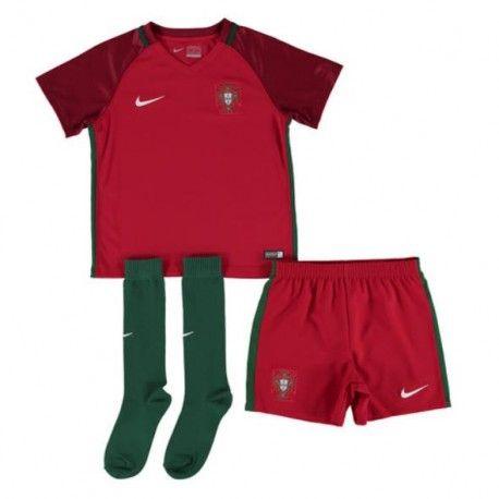 Maillot Portugal Euro Enfant 2016 Domicile