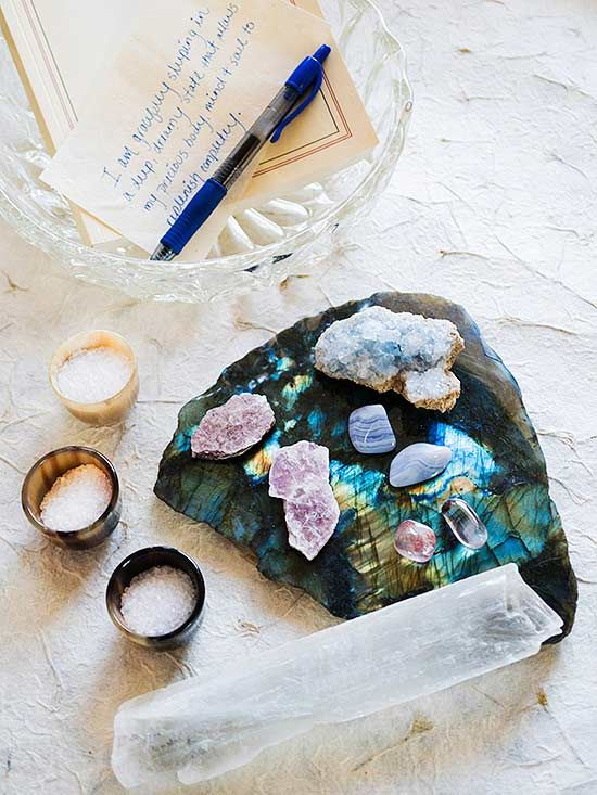 If you dig the look of decorating with crystals, it's time to get reacquainted with these colorful rocks. Our guide to crystals will help you understand their potential benefit, the types available, and where to place them in your home.