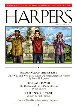 With a Harper's magazine subscription you will receive balanced coverage of social, political, literary, cultural and scientific themes by promising new voices and distinguished writers.